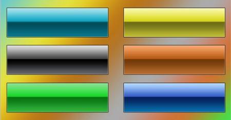 Набор цветных классических кнопочек