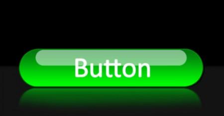 Яркая блестящая кнопка